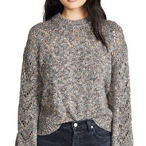 "Madewell BNWT XLarge sweater ""redwood pointelle"""